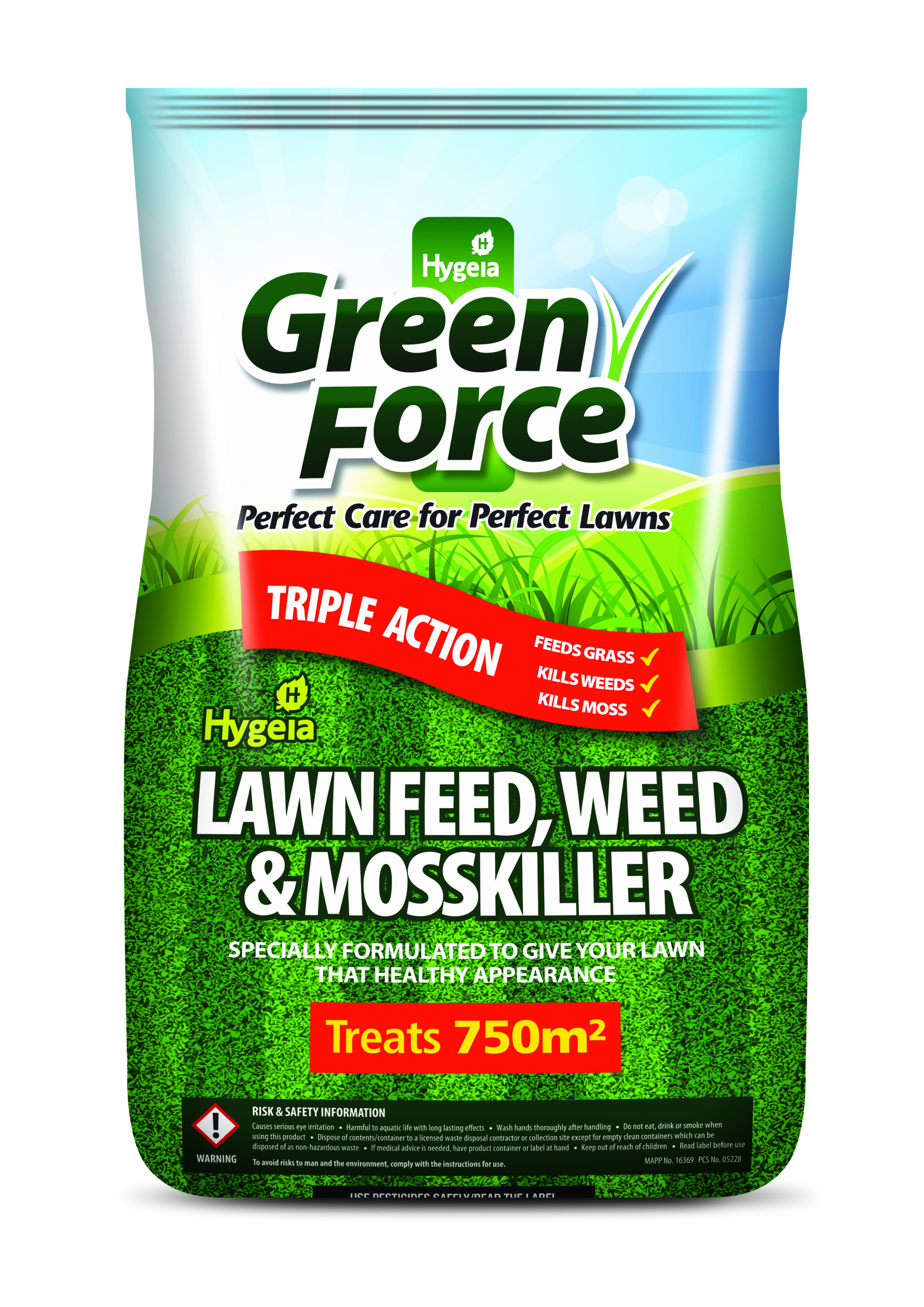 Greenforce Lawn Feed Weed and MossKiller